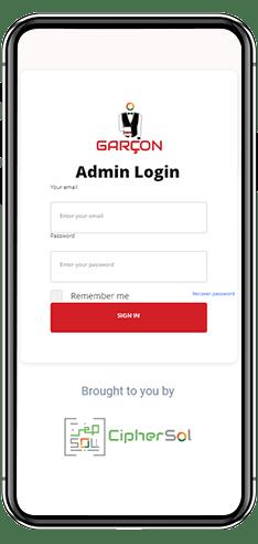 Mobile Restaurant Application